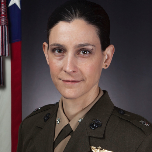 LtCol Janine Garner, USMC